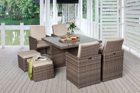 rattan lounge dining rattan tisch rattanm bel online. Black Bedroom Furniture Sets. Home Design Ideas