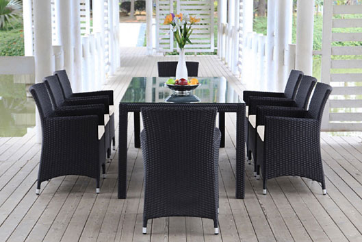grosse rattan tisch sets rattan gartenm bel rattanm bel terrassenm bel rattanm bel. Black Bedroom Furniture Sets. Home Design Ideas